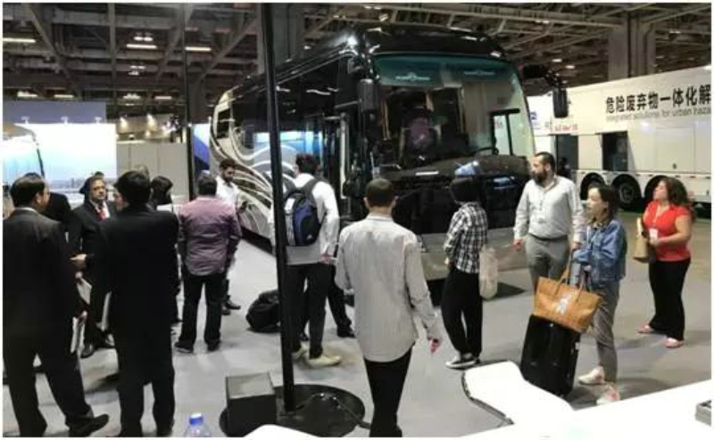 Golden Dragon Attended the 7th China (Macao) Automobile