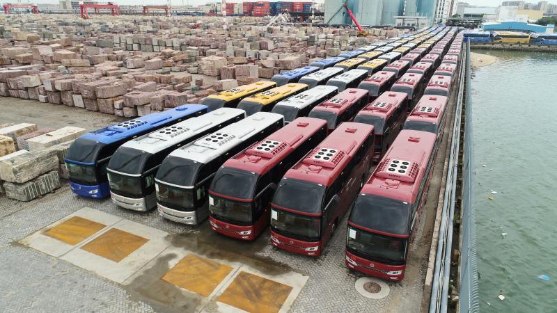 Golden Dragon Navigator Coaches Serve Pilgrims In Saudi Arabia Golden Dragon Bus China Top Bus Manufacturer